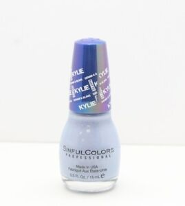 Sinful Colors Denim & Bling Collection By Kylie Matte Nail Color - Kurves, .5 Oz