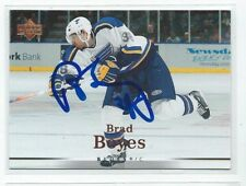 Brad Boyes Signed 2007/08 Upper Deck Card #18