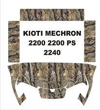 KIOTI MECHRON camo graphics wrap DECALS camouflage UTV SIDE X 200 PS 2240 kit 2