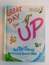 Great Day for Up by Dr. Seuss  Hardcover 1974 Book Club Edition Hard Cover