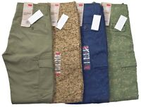 Levis Men's $68 Slim Straight Fit Military Cargo Pants Choose Color & Size