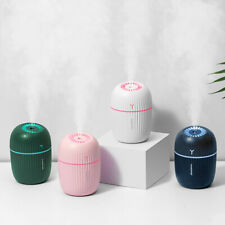 400ML Tabletop Humidifier Aroma Essential Oil Diffuser Air Humidificador USB Ultrasonic 7 Color Light Mist Maker for Home Car