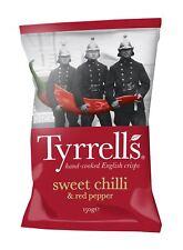 Tyrrells Sweet Chilli   Red Pepper Cris 150g 3b34d3fb2
