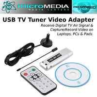 MediaVISION- Digital TV Tuner-Receiver Adapter Dongle- USB 2 - TV DVB-T