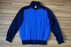 VINTAGE ADIDAS TRACK TOP ZIP JACKET 1980s MADE IN WEST GERMANY BLUR COLOR RARE