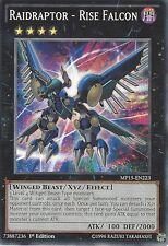3 X YU-GI-OH CARD: RAIDRAPTOR - RISE FALCON - MP15-EN223 - 1st EDITION