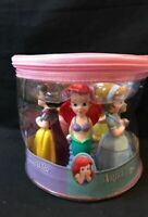 Disneyland Parks Exclusive Princess Squeeze Toys Set of 5 Cinderella Ariel Belle