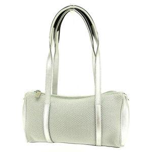 miumiu Shoulder bag Grey Silver Woman Authentic Used E983
