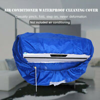 Air Conditioner Cover Waterproof Bag Cleaning Home Protector Household Washing