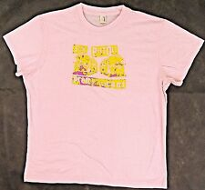 SEX PISTOLS T-shirt Retro Vacant Punk Rock Baby Doll Tee JUNIORS XL Pink New