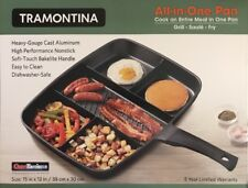 Tramontina All-in-One Pan Heavy-gauge Cast Aluminum with Nonstick Interior