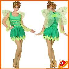 Costume Carnevale Halloween Donna Ragazza Principessa Fata Verde Winx Trilly Tg