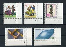"""BUND Nr.1096-1097 u.a. 5 SONDERMARKEN FORMNUMMER """"2"""" !!! (122926)"""