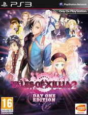 Tales of Xillia 2 Day One Steelbook Edition PS3 * Neu Versiegelt PAL *
