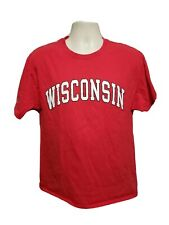 University of Wisconsin Adult Large Red TShirt