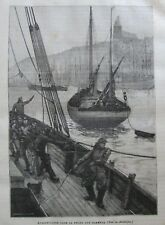 JOURNAL DES VOYAGES N° 372 de 1884 LA PÊCHE AUX HARENG / VIE EN MONTAGNE ALPES