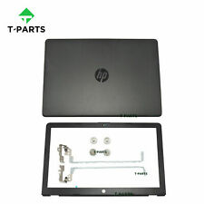 New For HP 15-bs0xx 15-bw0xx 15-bs1xx 15-bw011dx LCD Back Cover+Bezel+Hinges BLK