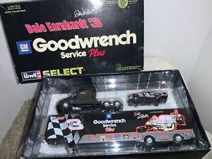 DALE EARNHARDT #3 GM GOODWRENCH SERVICE PLUS / TRIBUTE HAULER  & Car ACTION 1:64
