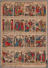 imagerie NOUVELLE VAGNé HISTOIRE de FRANCE PL  03  28x39cm