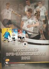 EM 2012 Offizielles DFB-Sammelalbum Rewe-komplett-alle 32 Bilder+6 3D Karten