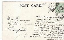 Genealogy Postcard - Family History - Norman - Golden Square - Henfield   V207