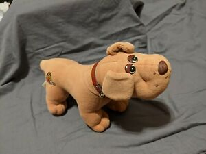 Vintage Pound Puppies Plush From France Les Pitous Pitou with Collar