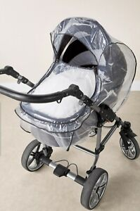 Lupilu Universal Pram Rain Cover Stroller buggy wind shield with vent