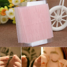 100X Adhesive Fiber Eyelid Stickers Invisible Double Side Technical Eye Tapes
