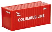 HO Scale Shipping container- 491336- 20ft Container - Columbus Line