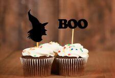 16x Halloween Cupcake Toppers Halloween Cupcake Picks Halloween Decor