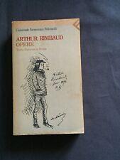 Rimbaud Opere Testo francese a fronte Feltrinelli
