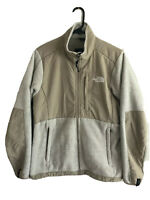 The North Face Fleece Jacket Womens Medium Brown Polyester Full Zip Outdoors
