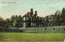Lincolnshire Thorpe Hall Louth Vintage Postcard 19.5