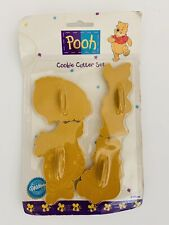 New Vintage Wilton Disney Winnie the Pooh Tigger Piglet Cookie Cutter Set of 4