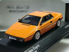 Minichamps Lotus Esprit, orange, 1978 - 400 135221 - 1/43