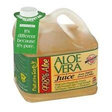 Organic Aloe Vera Juice 1 Gal Healthy Beverage Inner Gel Fillet No Fat Carbs NEW