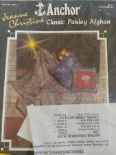 Anchor Classic Paisley Afghan Kit. #17914
