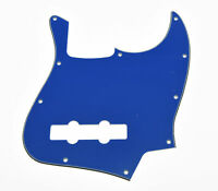 NEW PICKGUARD Jazz Bass blue 3 ply pour guitare JBass etc