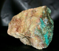 ET -Chrysocolla in Quartz -384 grams Rough, Congo