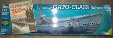 Revell 05047 USS Gato U-boot 1/72 plus US U-Boot Heft von 1942