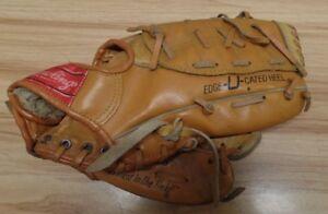 "Rawlings Rickey Henderson 11"" Baseball Glove Model RBG135 1980's A 062718DBG"