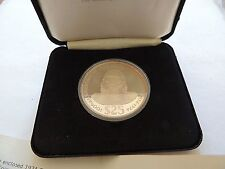 1974 Fiji Twenty ($25) Dollar Silver Commemorative Proof Coin With COA & Case