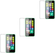 For Nokia Lumia 630 635 Protective 3pcs HD Clear Screen Protector Guard Film