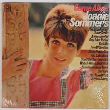 JOANIE SOMMERS: Come Alive! SHRINK 2-EYE Female Pop Vocals USA Columbia NM lp