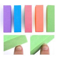 2/10x Nail Art Buffer Buffing Sanding Files Block Nail Tips Manicure Pedicure