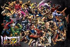 Street Fighter Poster Length :1200 mm Height: 700 mm  SKU: 1119