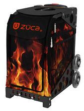 ZUCA Bag BLAZE Insert & Black Frame w/Flashing Wheels - FREE SEAT CUSHION