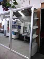 LARGE RECTANGULAR SILVER FRAMED MIRROR 2060MM BRISBANE