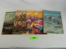 Complete Year 1966 All 4 Issues of The American West Magazine N/Mint Condition
