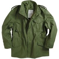 M65 Combat Jacket Field Coat USA Made Olive Drab Green Unworn SR Vietnam Style